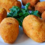 Different types of Spanish croquettes.