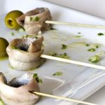 Spanish anchovies in vinegar