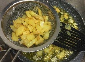 spanish omelette step 3