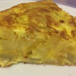 Spanish omelette step by step