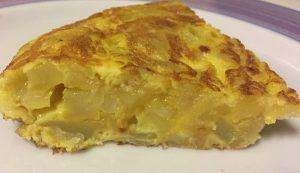 spanish omelette step 8
