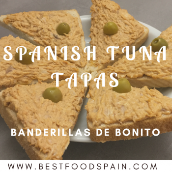 Spanish tuna tapas