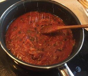 bonito tomato adding tomato