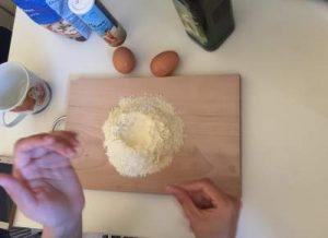fresh pasta mass