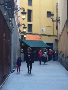 san gines restaurant outside street