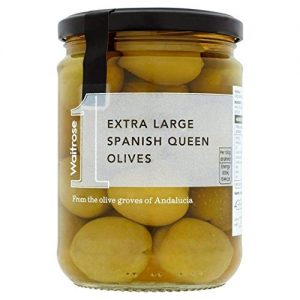 Extra Large Spanish Queen Olives Waitrose 435g