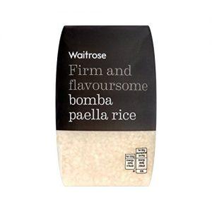 Rice Bomba Paella Waitrose 500g