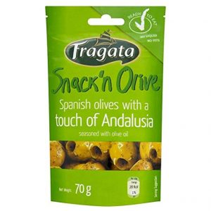 Fragata Andalusia Spanish Olives (70g) – Pack of 6