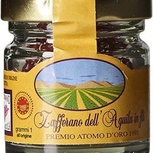 Saffron Threads DOP L'Aquila – Abruzzo, Italy – 1 g