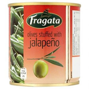 Fragata Spanish Olives Stuffed with Jalapeno (200g) – Pack of 2