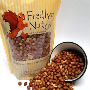 Roasted Salted Spanish Peanuts – 1lb Reclosable Bag